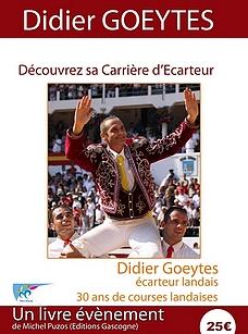 DIDIER GOEYTES Ecarteur Landais Sortie 1er Juin